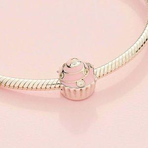 Pandora Pink Cupcake Charm